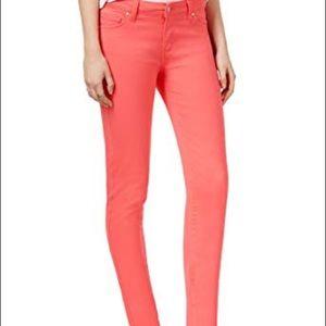 Celebrity Pink stretch skinny pants - hot pink
